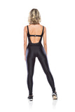 Sport Chic Jumpsuit - Black