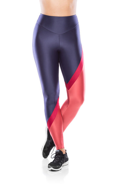 Glam Gym Legging - Navy Blue