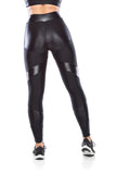Cut Shine Legging - black