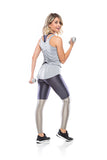 Glam Leg legging - Graphite