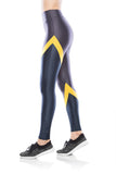 Glam Gym Legging - Graphite