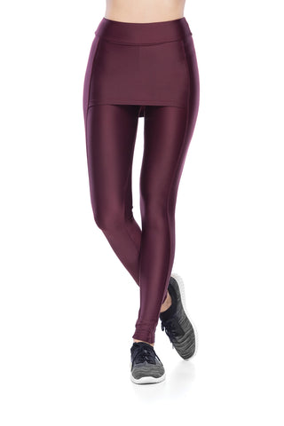 Cover Legging - Dark purple