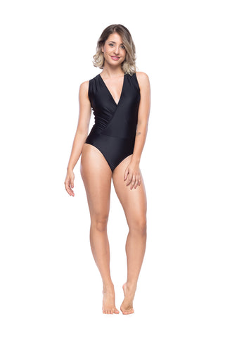 Line Bodysuit - Black