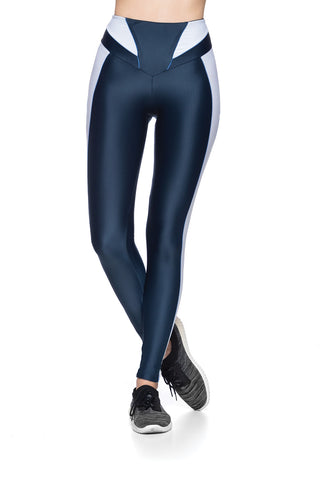 Infinity Vies Legging - Dark teal color