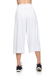 Pantacourt Pants - White
