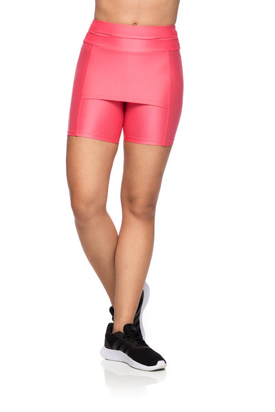Shorts Cover- Pink Bright