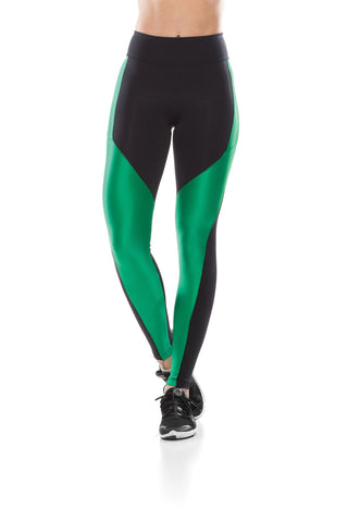 Eco Tec Leggings  - Black