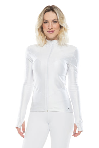 Power Basic Ink Jacket - White