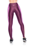 Mesh Viés Legging - Purple