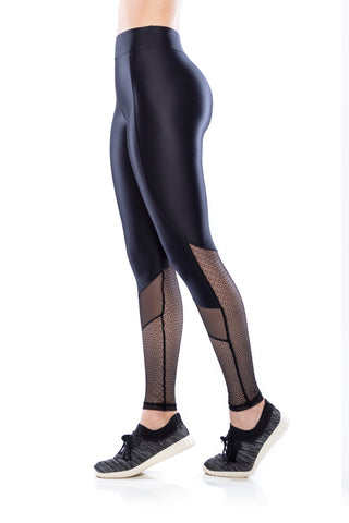 Mesh Legging - Black