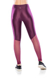 Mesh Legging- Purple