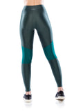 Tech Fit Textura Legging - Military Green