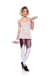 Tech Fit Legging - Dark Lilac