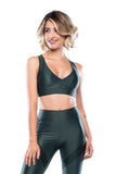 Revolution Sport Bra - Military Green