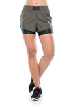 Revolution Shorts - Olive green