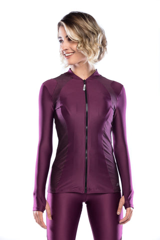 Run Jacket - Dark Purple