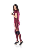 Move Legging - Dark Burgundy