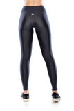 Legging Ziper Athleisure - Graphite