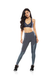 Asymmetric Side Legging - Graphite