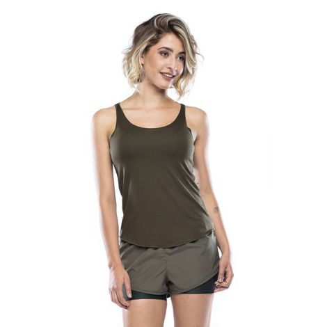 Perfect Basic Tank Top - Military Green