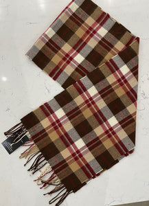 Plaid Winter Collar Scarf