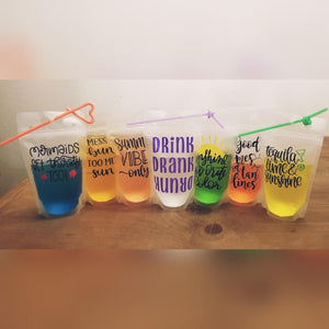 Customized Drink Pouches
