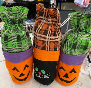 Halloween Wine Bottle Holders