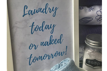 Lighten Your Laundry Load!