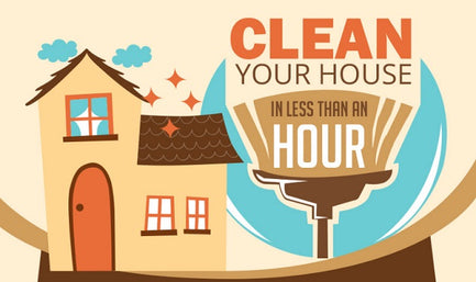 Clean Your House in Less Than an Hour