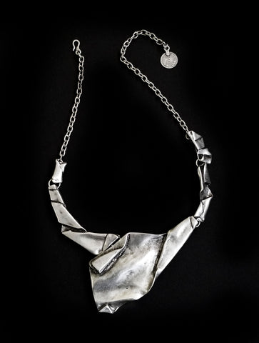 Pewter Necklace - SKU# ZN-153