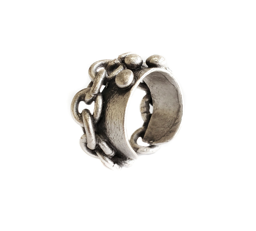 Pewter Ring SKU #NR6829