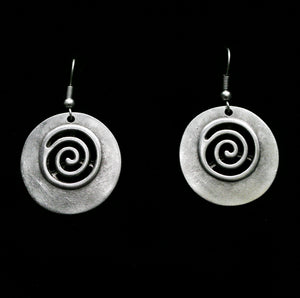 Pewter Earrings - SKU#  4526