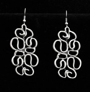 Pewter Earrings - SKU# 4550
