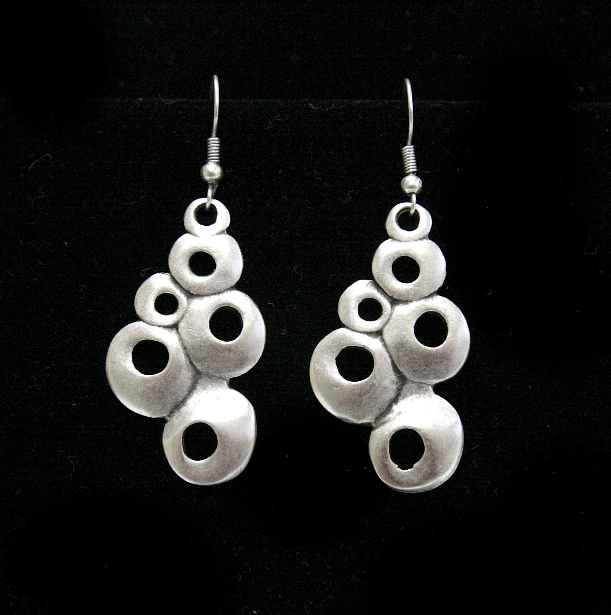 Pewter Earrings - SKU# 4552
