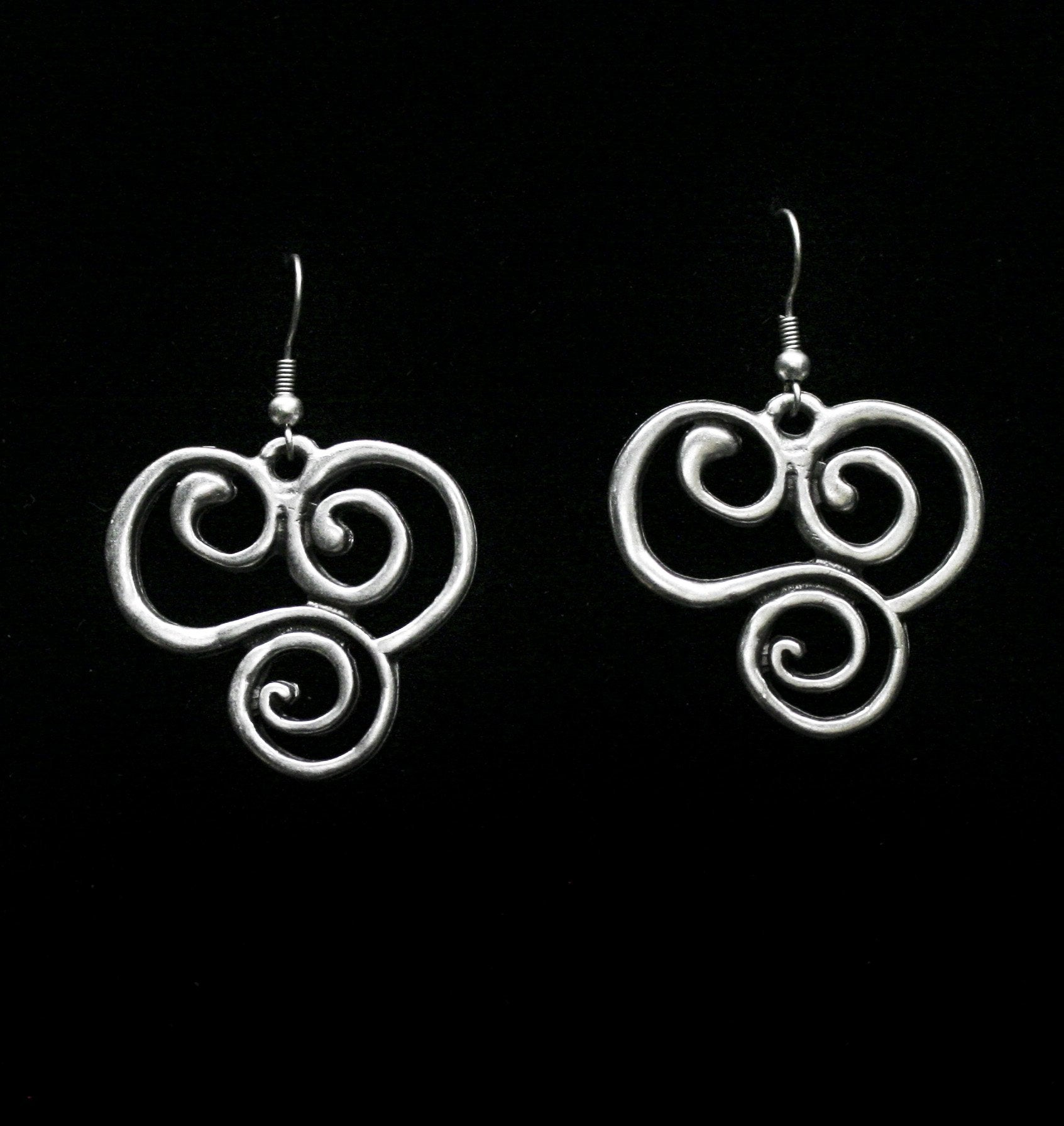 Pewter Earrings - SKU# 4555