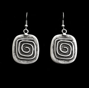 Pewter Earrings - SKU# 4570