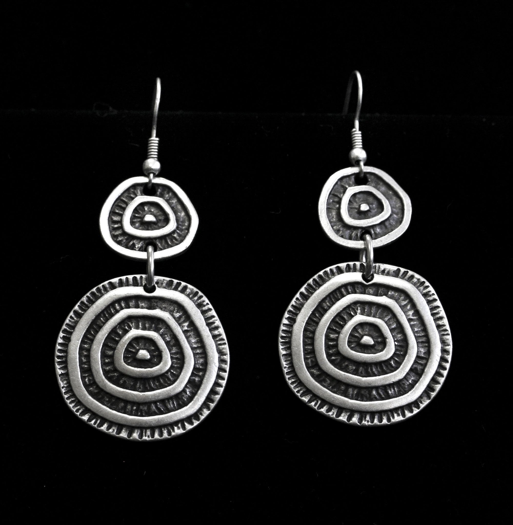 Pewter Earrings - SKU# 4597