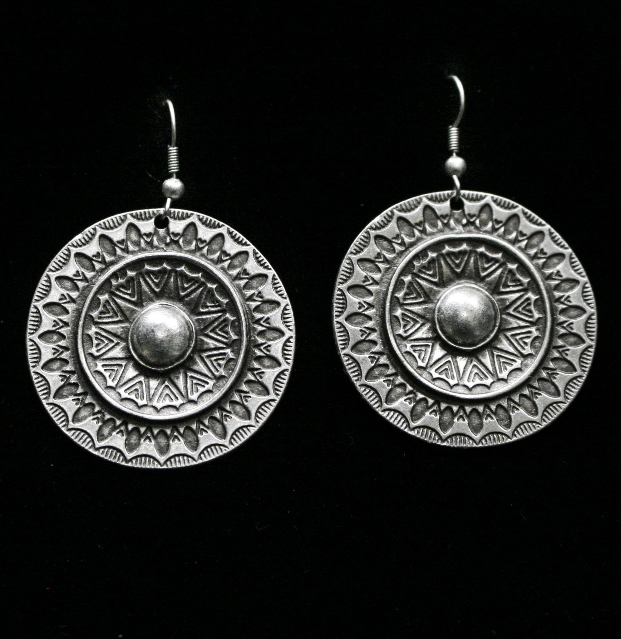 Pewter Earrings - SKU# 4655