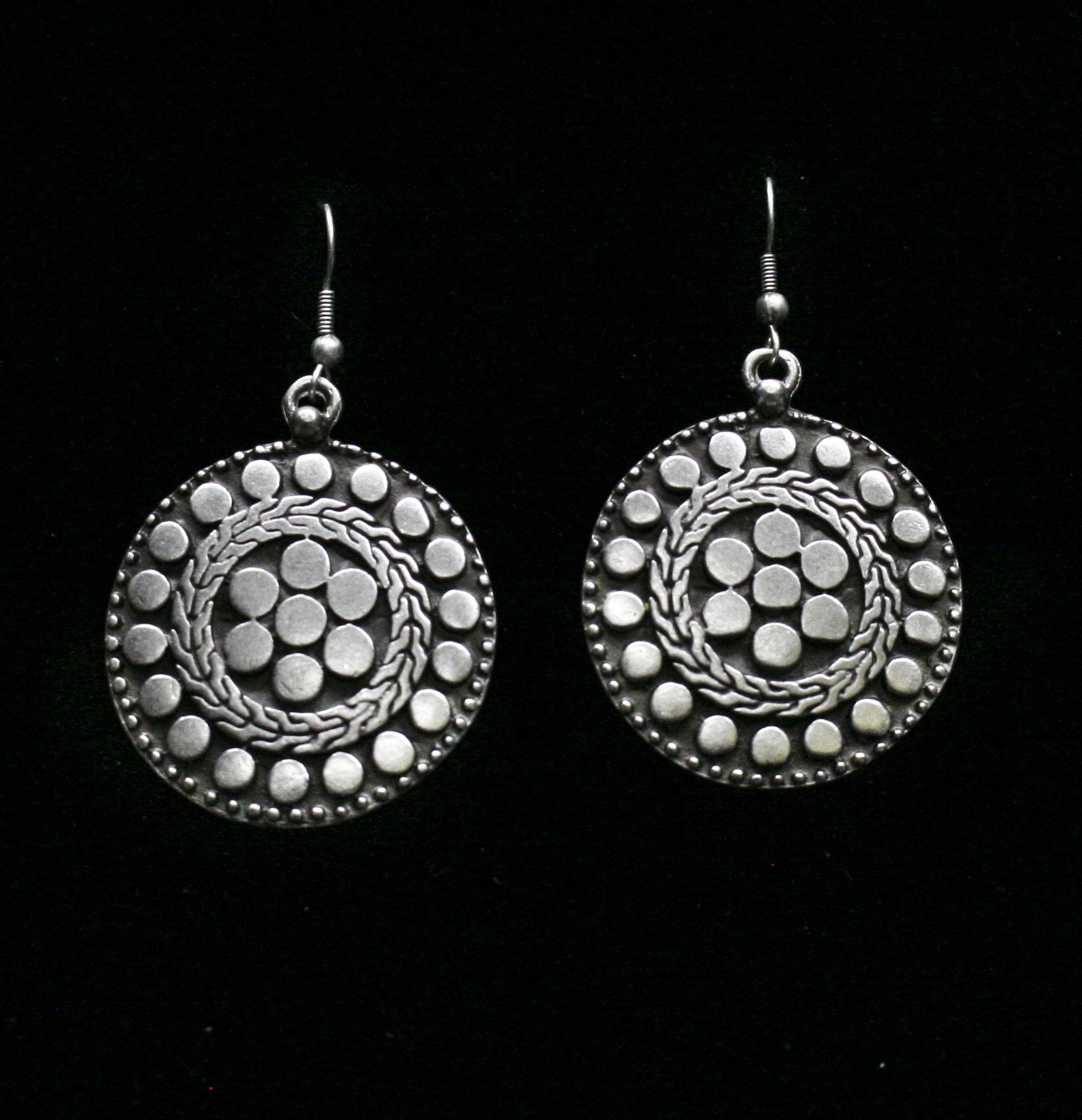 Pewter Earrings - SKU# 4664