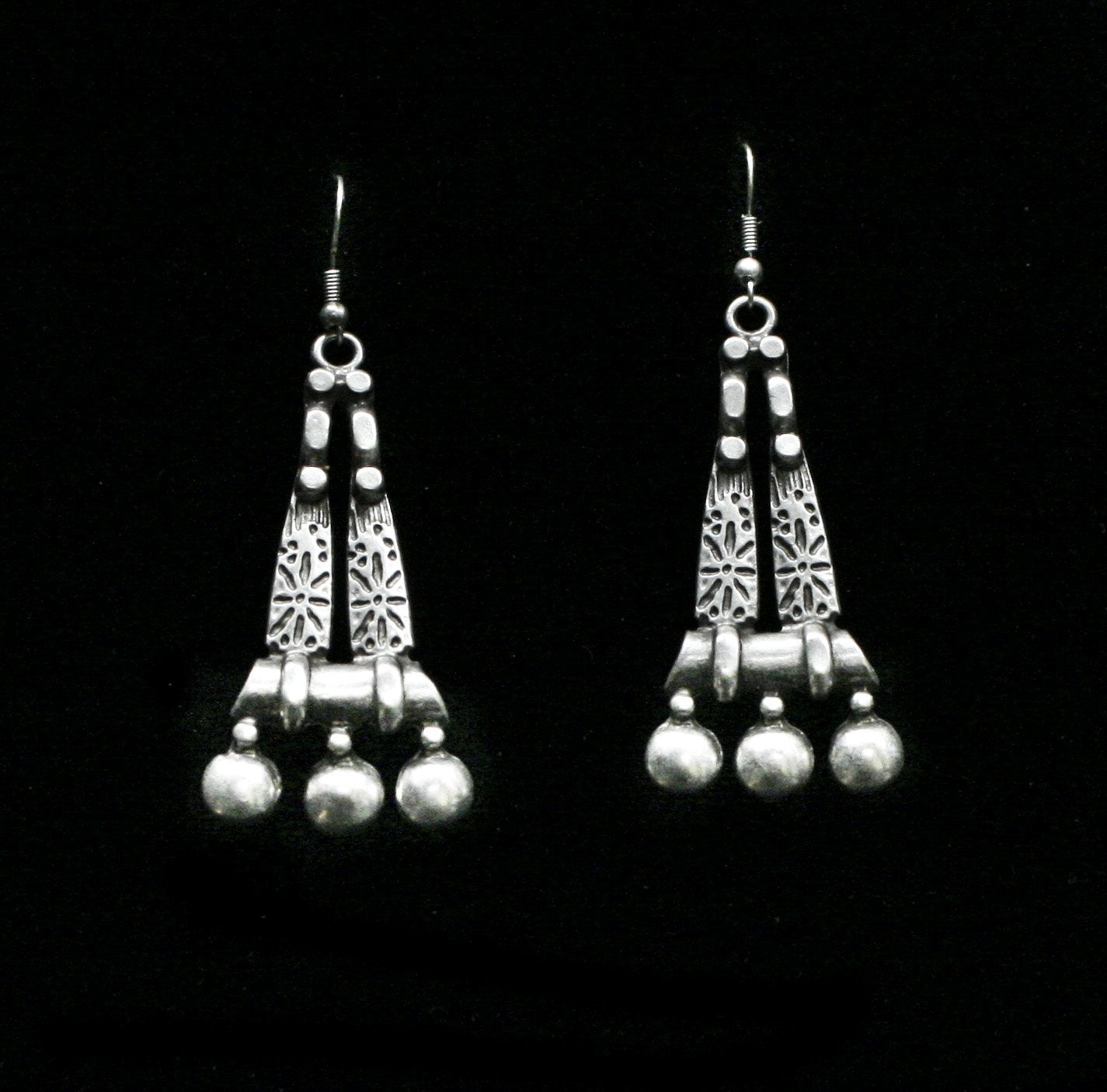 Pewter Earrings - SKU# 4692