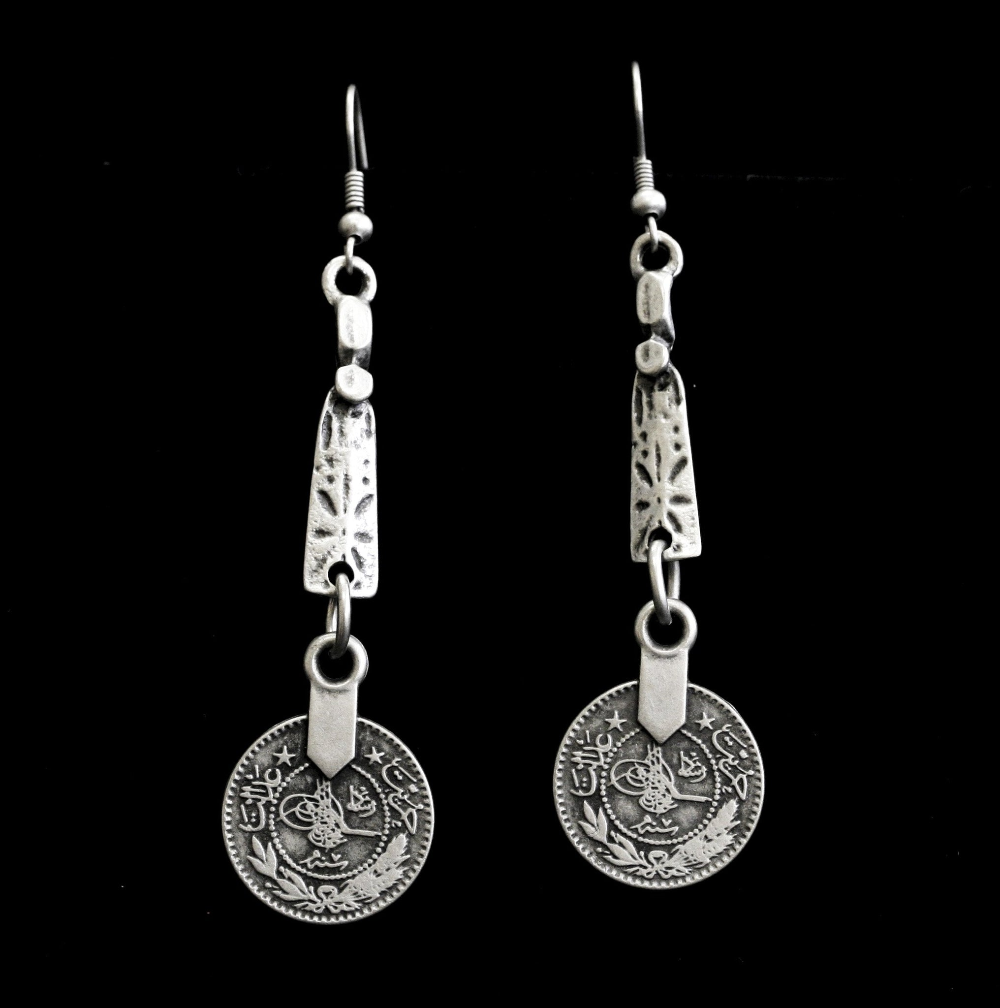 Pewter Earrings - SKU# 4694