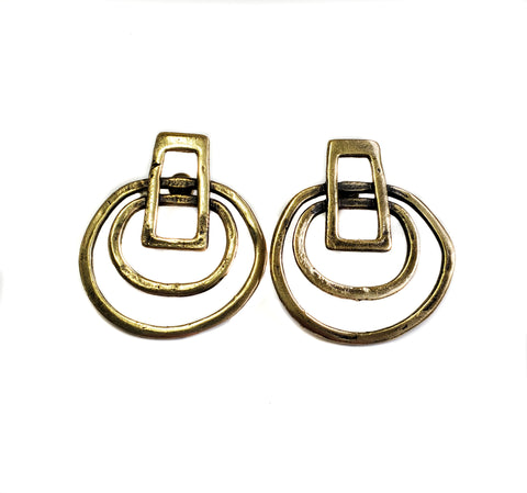 Bronze Earrings - SKU# BRN4019