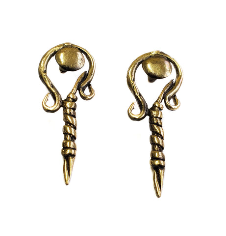 Bronze Earrings - SKU# BRN4031