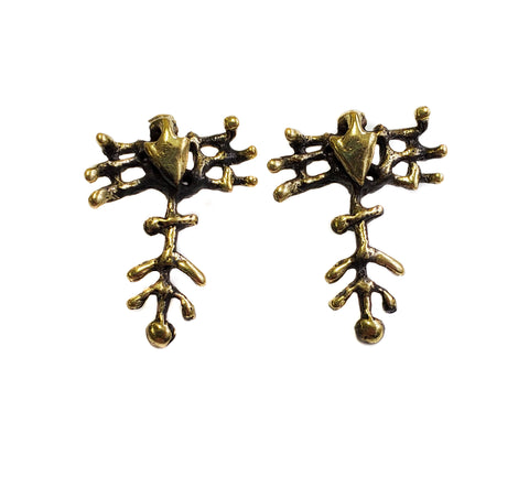 Bronze Earrings - SKU# BRN4032