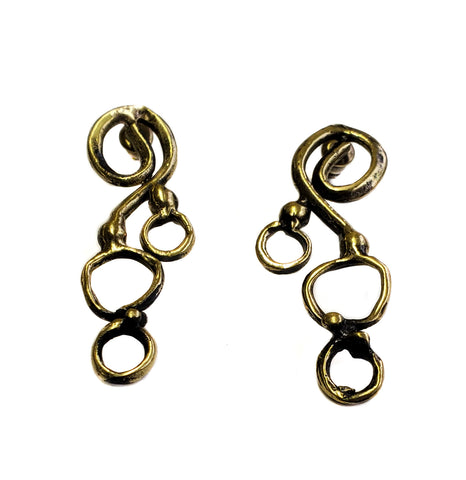Bronze Earrings - SKU# BRN4033