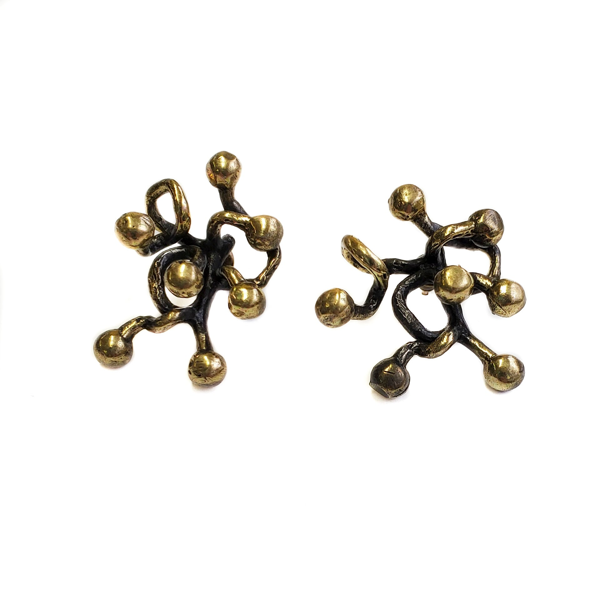 Bronze Earrings - SKU# BRN4060