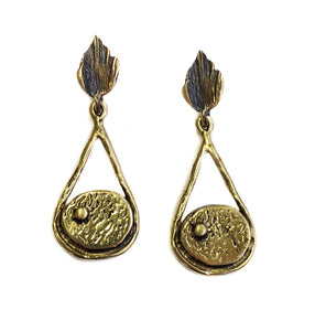 Bronze Earrings - SKU# BRN4079