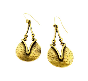 Bronze Earrings - SKU# KU40 BRONZE