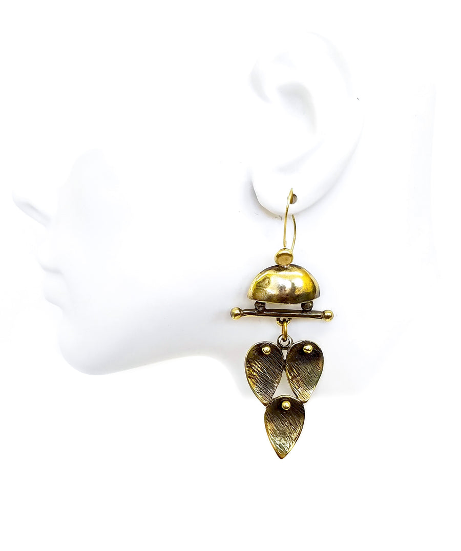 Bronze Earrings - SKU# KU42 BRONZE