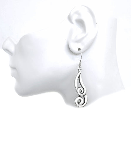 Pewter Earrings - SKU# KU108